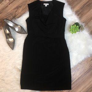 Coldwater Creek Sz 12 classic black dress